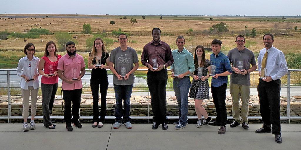 Outstanding undergrads for 2015-16