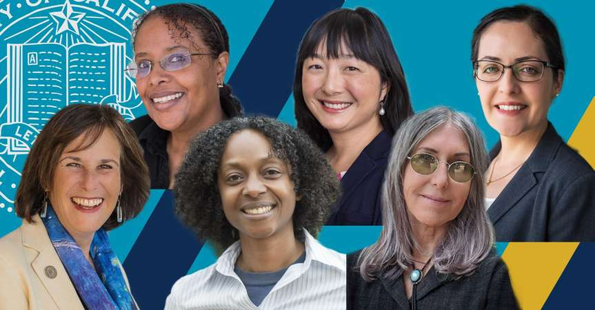 From left to right: Marjorie Zatz, Asmeret Asefaw Berhe, Tracey Osborne, Sora Kim, Teenie Matlock and Denise Payán.