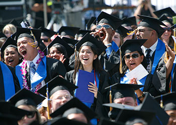 The campus's 12th commencement ceremony will celebrate largest-ever graduating class.