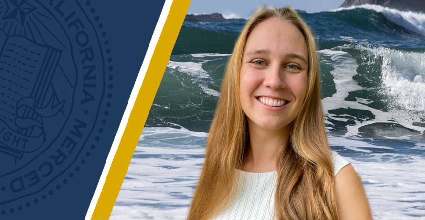 Selina Brinkmann, who will graduate in May with a master's degree in Mechanical Engineering, is UC Merced's first student to earn a prestigious Rhodes Scholarship.