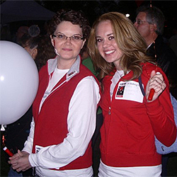 Gunter's sister Telisa was her bone marrow donor.