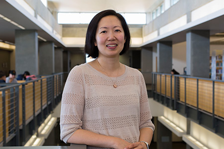 Emily Lin, director of digital assets for the UC Merced library.