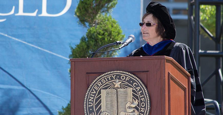 Graduate Dean Marjorie Zatz