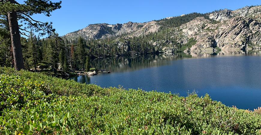 Views of Sierra Nevada