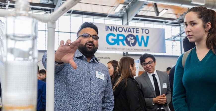 Students take part in the Design Expo at Innovate to Grow