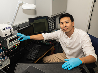Professor Min Hwan Lee is the first NSF CAREER recipient for the mechanical engineering department to receive the award.