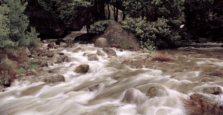 The Merced River in Yosemite National Park