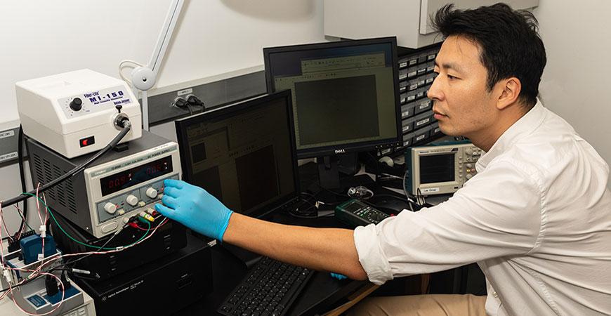 Professor Min Hwan Lee
