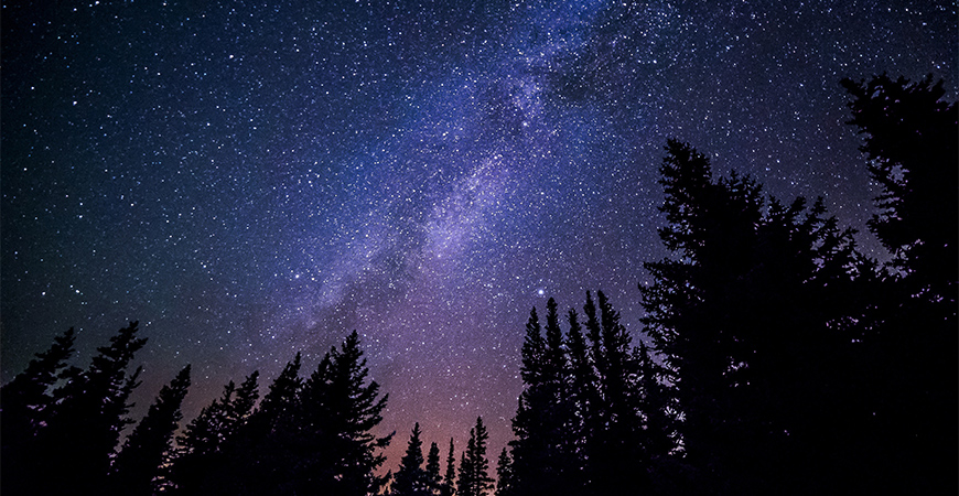 A view of the Milky Way.