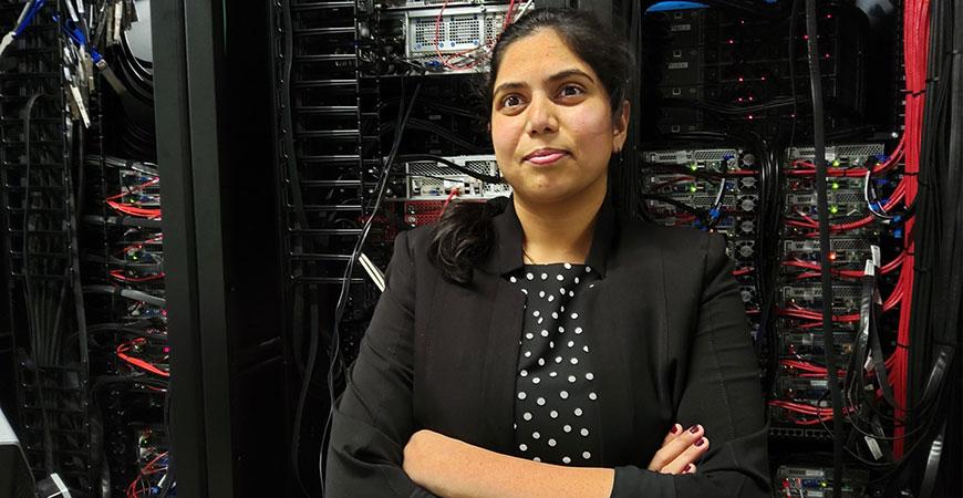 HPC Manager Sarvani Chadalapaka