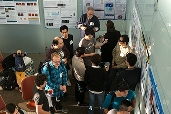 A poster session was just one facet of the MACES open house.