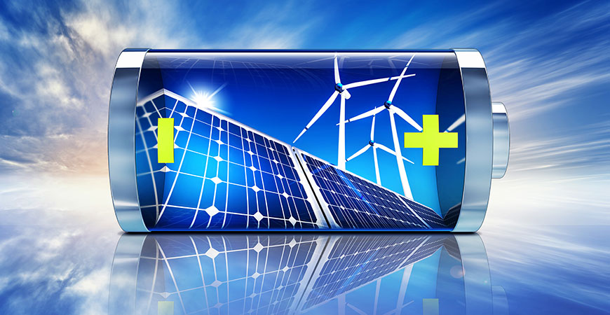 Freeing the state from its dependence on fossil fuels means finding the right combination of renewable solutions, as well as efficient, low-cost energy storage.