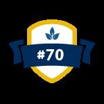 ranked number 70 environmental engineering program