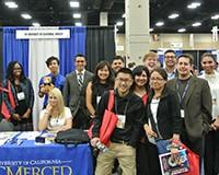 Society for Advancement of Hispanics/Chicanos & Native Americans in Science (SACNAS) conference in San Antonio, Texas
