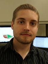 UC Merced master's student Andrew Zumkehr